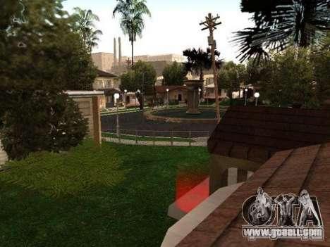 Nev Groove Street 1.0 for GTA San Andreas third screenshot