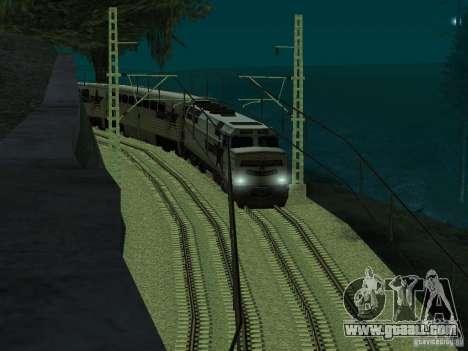 High speed RAILWAY line for GTA San Andreas forth screenshot