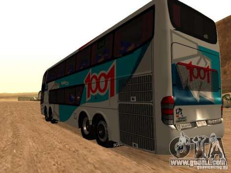 Marcopolo Paradiso 1800 G6 8x2 SCANIA for GTA San Andreas right view