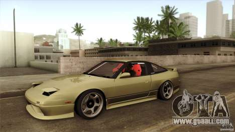 Nissan 240SX S13 Drift Alliance for GTA San Andreas side view