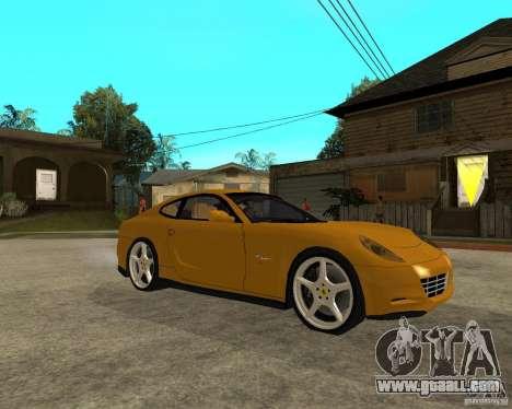 Ferrari 612 Scaglietti for GTA San Andreas right view