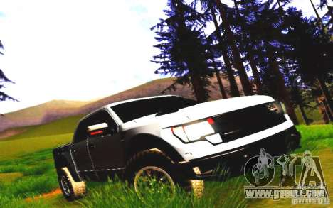 Ford Raptor Crewcab 2012 for GTA San Andreas left view