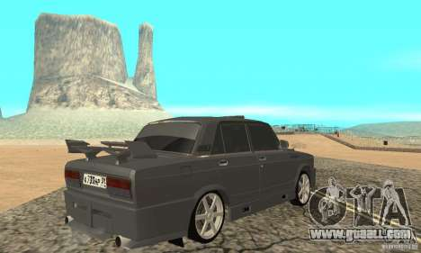VAZ 2105 Night Hunter for GTA San Andreas left view