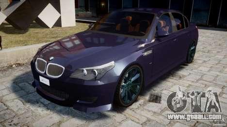 BMW M5 Lumma Tuning [BETA] for GTA 4