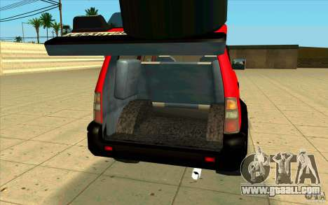 Toyota Land Cruiser Prado for GTA San Andreas inner view