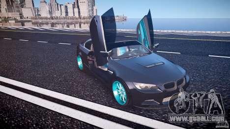 BMW E92 for GTA 4 interior