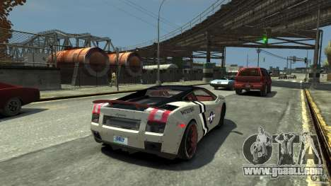 Lamborghini Gallardo LP560-4 [EPM] for GTA 4 back left view