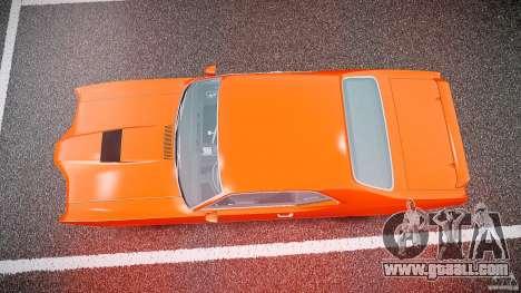 Mercury Cyclone Spoiler 1970 for GTA 4 upper view