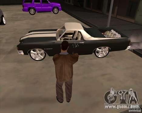 Skin is a member of the mafia for GTA San Andreas fifth screenshot