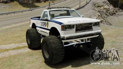 Cop Monster Truck ELS for GTA 4