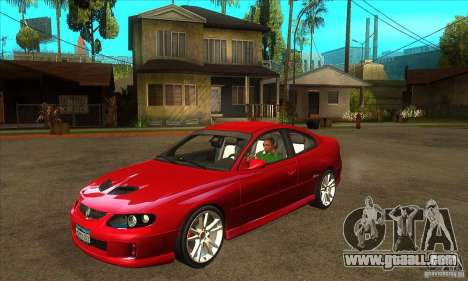 Holden Monaro CV8-R for GTA San Andreas