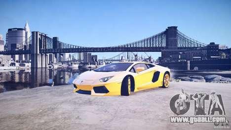 Lamborghini Aventador LP700-4 v1.0 for GTA 4