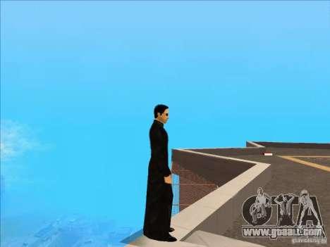 Matrix Skin Pack for GTA San Andreas second screenshot