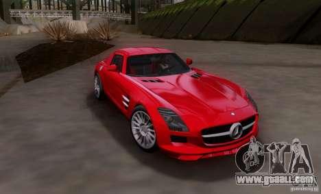 Mercedes-Benz SLS AMG V12 TT Black Revel for GTA San Andreas