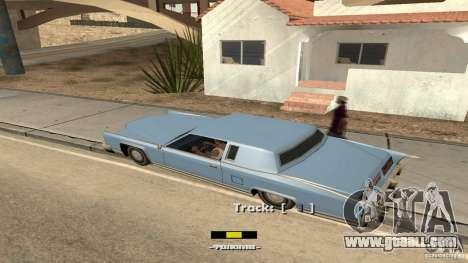 Music car v4 for GTA San Andreas