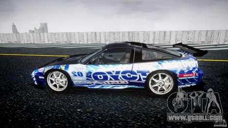 Nissan 240sx Toyo Kawabata for GTA 4 left view