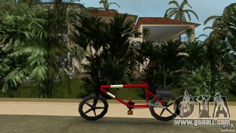 Mountainbike (Rover) for GTA Vice City left view