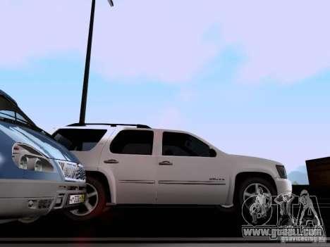 Chevrolet Tahoe LTZ 2013 for GTA San Andreas back view