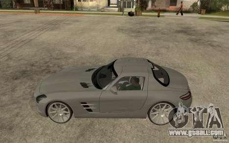 Mercedes-Benz SLS for GTA San Andreas left view