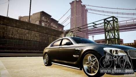 BMW 750Li (F02) Hamann 2010 v2.0 for GTA 4 upper view