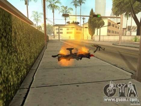 Domestic weapons-version 1.5 for GTA San Andreas fifth screenshot