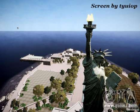 New Statue of Liberty for GTA 4 third screenshot