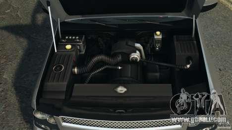 Chevrolet Suburban GMT900 2008 v1.0 for GTA 4 upper view