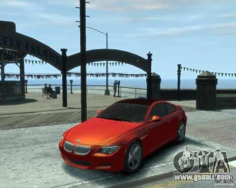 BMW M6 2010 v1.1 for GTA 4