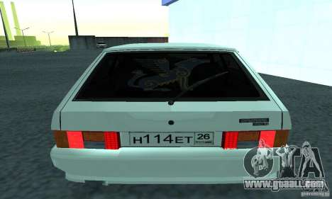 VAZ-2114 for GTA San Andreas back left view