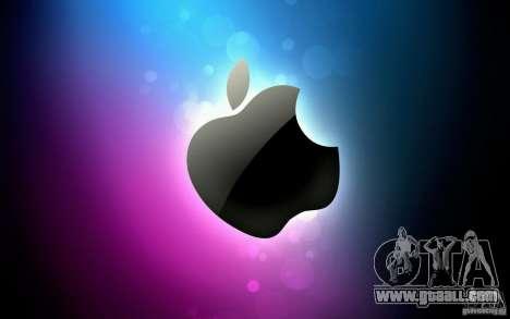 The Apple boot screen for GTA San Andreas third screenshot