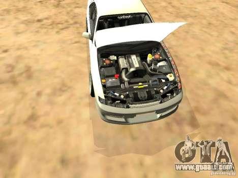 Nissan Silvia S14 JDM for GTA San Andreas side view