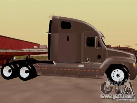 Freightliner Century ST for GTA San Andreas back left view