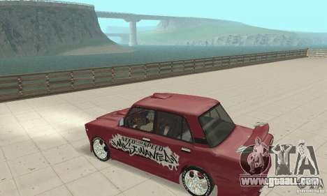 VAZ 2107 Ex Tuning for GTA San Andreas right view