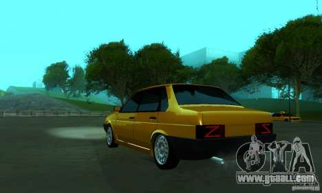 VAZ 21099 PROTOCOL for GTA San Andreas left view