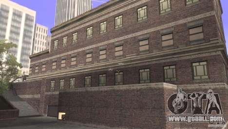 San Fierro Police Station 1.0 for GTA San Andreas second screenshot
