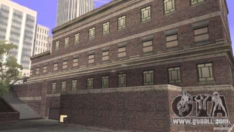 San Fierro Police Station 1.0 for GTA San Andreas second screenshot