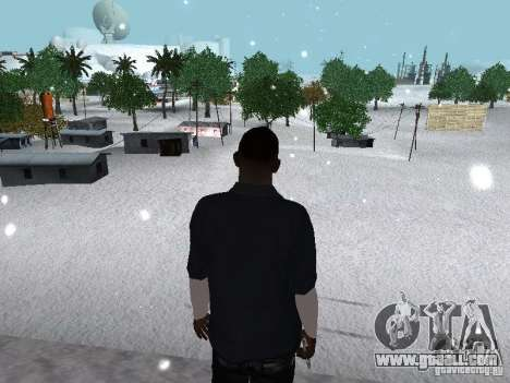 Snow MOD 2012-2013 for GTA San Andreas eighth screenshot