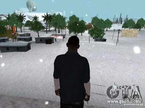 Snow MOD 2012-2013 for GTA San Andreas eighth screenshot