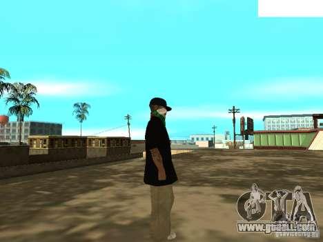Mexicano Skin for GTA San Andreas forth screenshot