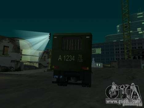 GAZ 3309 paddy wagon for GTA San Andreas side view