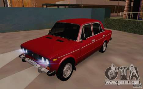 VAZ 2106 Drain for GTA San Andreas left view