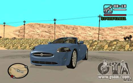 Jaguar XK Convertable for GTA San Andreas