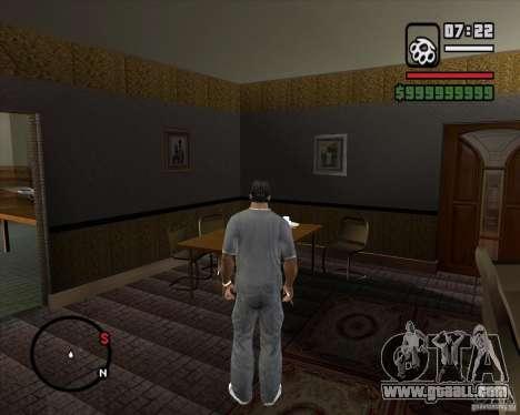 Replacing the whole House CJeâ for GTA San Andreas ninth screenshot