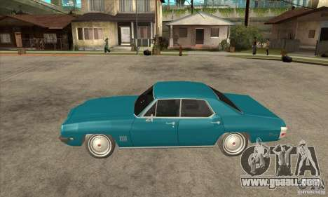 Pontiac LeMans for GTA San Andreas left view