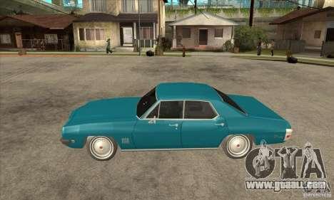 Pontiac LeMans for GTA San Andreas left view