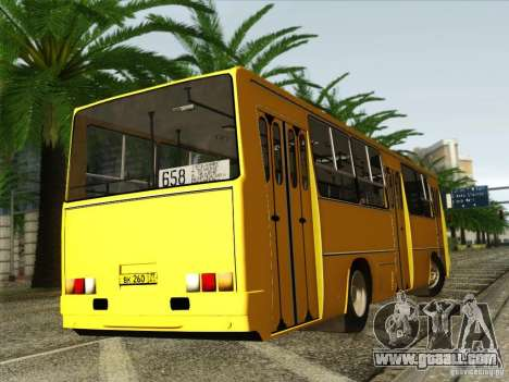 IKARUS 260 for GTA San Andreas inner view