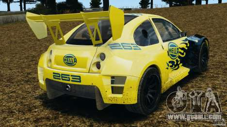 Colin McRae Hella Rallycross for GTA 4 back left view