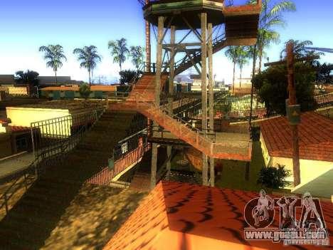 Base of Grove Street for GTA San Andreas tenth screenshot