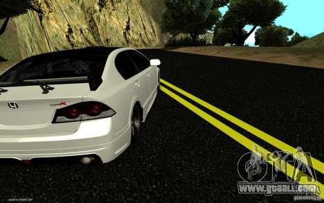 Honda Civic Type R for GTA San Andreas left view