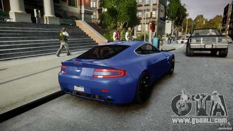 Aston Martin V8 Vantage V1.0 for GTA 4 side view